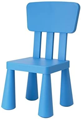 Ikea Blue Mammut Kids Children's Chair