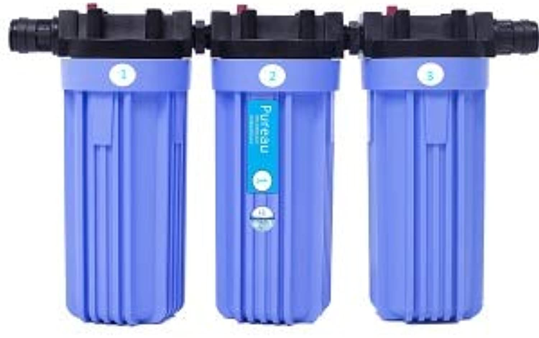 Pureau 1H + ganze Haus kombiniert saltless Enthrter und Wasserfilter mit zustzlichen Wasserstoff