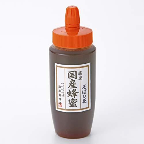 蜂蜜 専門店 藤原養蜂場 藤原国産蜂蜜 そば ポリ容器 500g