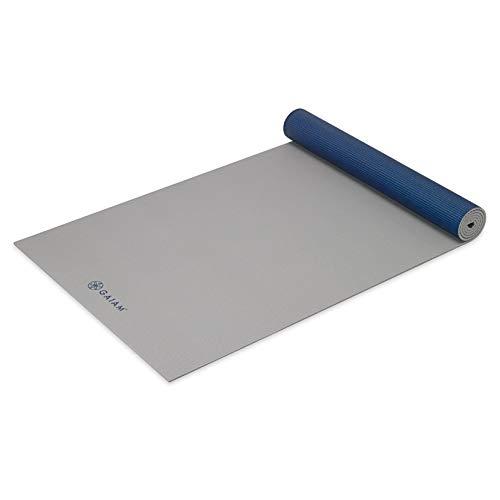 Gaiam Yoga-Matte – einfarbige Übungs- und Fitness-Matte für alle Arten von Yoga, Pilates und Boden-Workouts (68