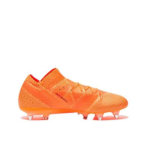 adidas Nemeziz 18.1 SG, Zapatillas de Fútbol Hombre, Naranja (Zest/Cblack/Solred Zest/Cblack/Solred), 40 2/3 EU ✅
