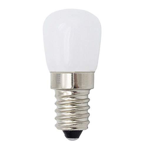 Uzinb Mini Ahorro de energía Regulable Frigorífico Luz E14 110V 220V 2W Congelador Bulbo del proyector