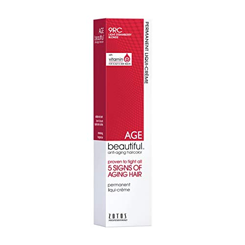 AGEbeautiful 9RC Light Strawberry Blonde Permanent Liqui-Creme Hair Color 9RC Light Strawberry...