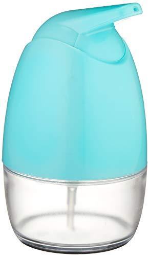 Amazon Basics - Dispensador de jabón - Giratorio, Azul