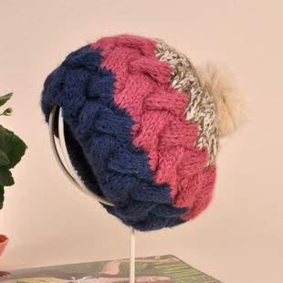 Otoño e Invierno, Estilo Coreano, señoras de Moda, Invierno, Sombrero cálido, protección para los oídos, Sombrero de Punto