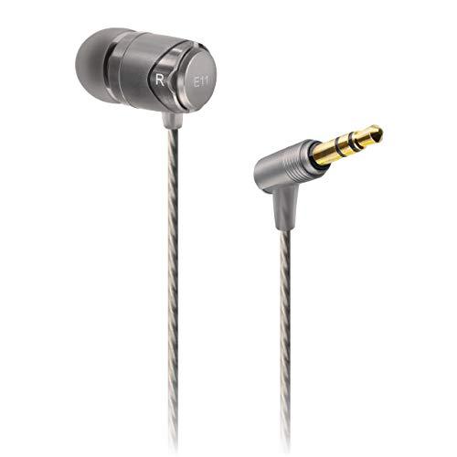 SoundMAGIC E11 – Premium In-Ear Kopfhörer, Silber