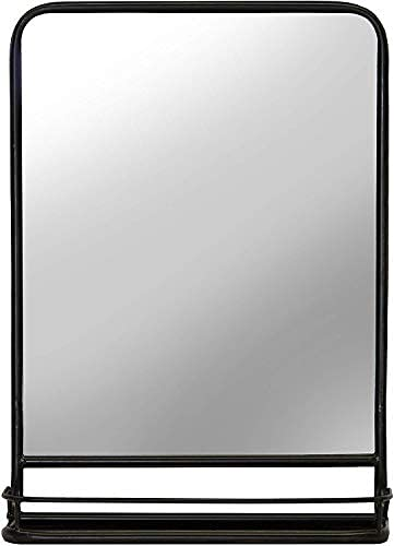 First of a Kind Rectangular Bathroom and Pharmacy Metal Wall Mirror