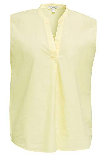 Esprit Damen 040EE1F314 Bluse, 760/LIME Yellow, 36