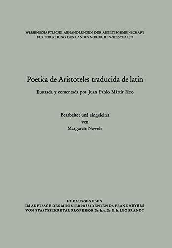 Poetica de Aristoteles Traducida de Latin: Ilustrada Y Comentada Por Juan Pablo Martir Rizo: 25