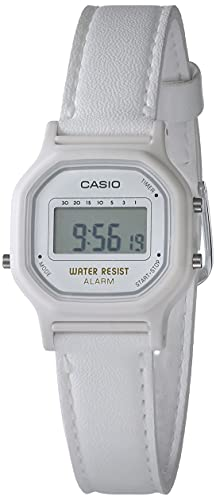 Casio Women's 'Classic' Quartz Resin Casual Watch, Color:White (Model: LA-11WL-7ACF)