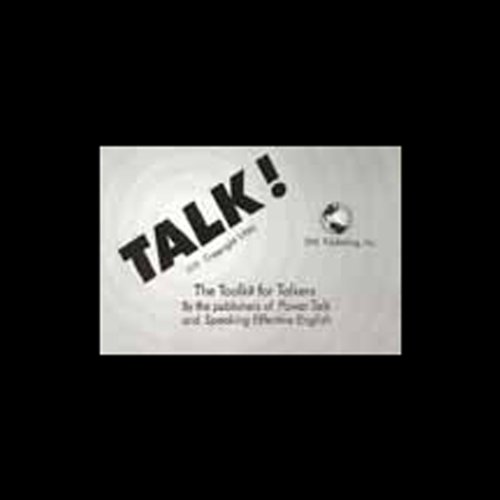 Talk! The Toolkit for Talkers audiobook cover art