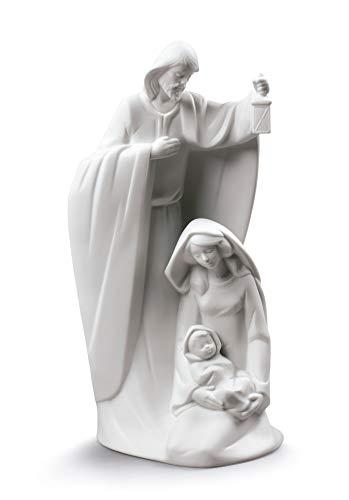 NAO Figura Ha Nacido El Salvador. Nacimiento de Navidad de Porcelana