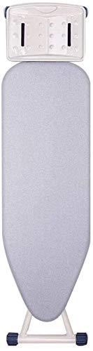 Tablas de planchar Tablero de planchado con superficie de planchado ultraligero, tabla de planchar para tiempo de planchado reducido, panel de vapor con marco resistente, 110x31x86 cm ( Color : B )