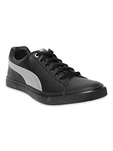 Puma Unisex Adult Salz Nu Idp Black-Silver Closed Shoe-9 UK (36621412_9)