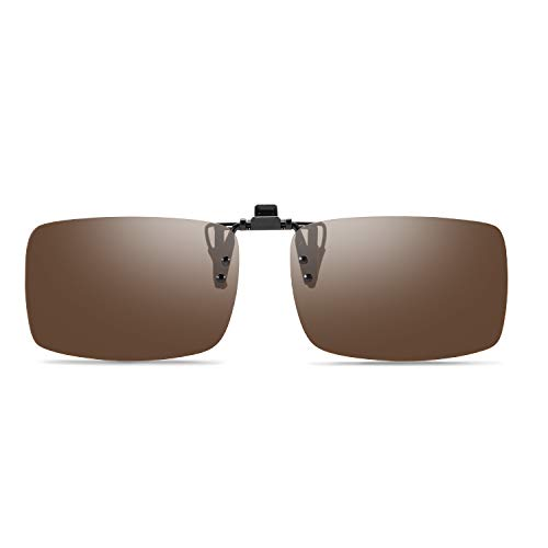 Soxick Polarized Clip On Flip Up Sunglasses