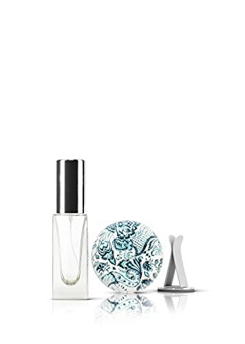 ASALEA ASTALEA Auto Duftstein- Verwende Dein Lieblingsparfum als Autoduft mit dem Design Duftspender. Premium Aroma Diffuser mit Air Vent Clip und Parfümzerstäuber zum selbst Befüllen!