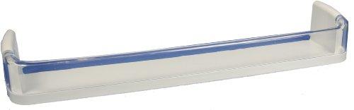 LG Electronics 5005JJ2020A Refrigerator Door Shelf/Bin, White with Clear Trim
