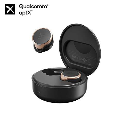 Tronsmart Apollo Bold ANC Auriculares Bluetooth 5.0, Cancelación Activa de Ruido, Qualcomm Chip QCC5124, Mini TWS Auriculares Inalámbricos con 6 Micrófonos, 30 Horas de Reproducción, IPX45 Waterproof