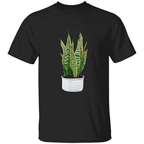 Sansevieria Snake Mother Tongue In Law Devil Bowstring Jinn T-Shirt For Men and Woman.