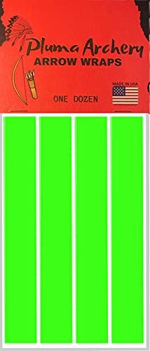 Arrow Wraps | Cut for Small Diameter Archery Shafts | 5MM / 0.204 Inch...