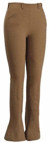 TuffRider Damen Lowrise Kentucky Jods (normal), Damen, beige, 24