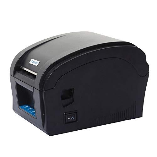 ZHANGJIALI Imprimantes de reçus Portable Mini réception Ticket imprimante Xprinter XP-360B Port USB Thermique d'étalonnage Automatique de Code à Barres d'impression