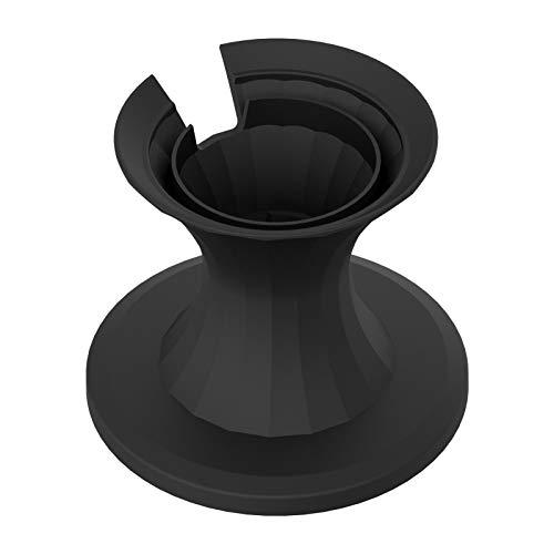 Augneveres Elegante Soporte de Escritorio de Aluminio para Apple HomePodHomePod Mini Almohadilla de Metal Antideslizante portátil para HomePodHomePod Mini Comfortable