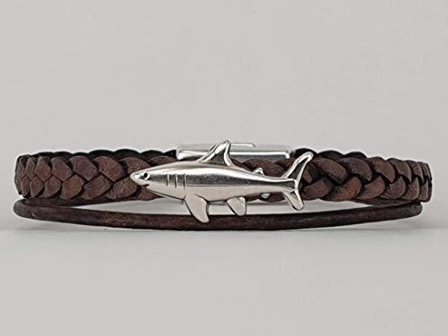 Cooles maritimes Haifisch Armband für Jungs ein tolles Geschenk zum Geburtstag