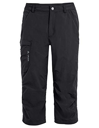 VAUDE Farley Capri Pants II - Pantalones para hombre, Hombre, Pantalones, 42174, negro, 50