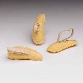 Hammer Toe Crests Buttress Pads, Left, Medium, Suede