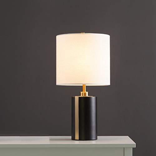 OWEM Lámpara De Mesa Lámpara De Noche Creativa Moderna Lámpara De Escritorio Hierro Forjado Moda Americana E27 Es Fácil De Instalar Se Utiliza para Dormitorio Sala Estar Estudio Oficina,B