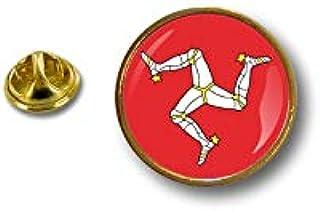 Spilla Pin pin's Spille spilletta Giacca Badge Biker Moto Bandiera Isola di Man