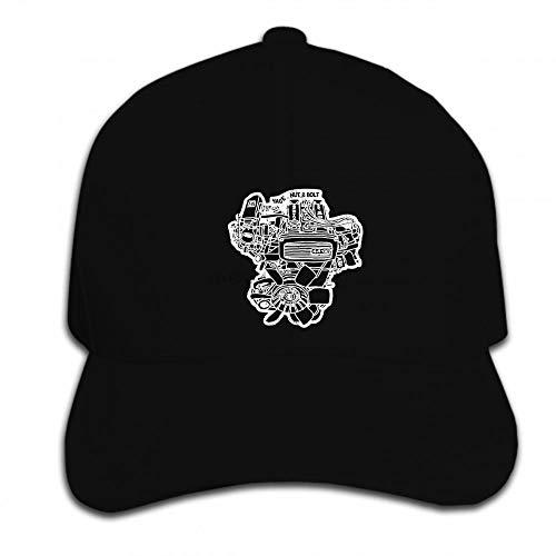 PRWJH Gorra para el Sol Gorra de béisbol Unisex Hip Hop Hombres Mujeres Divertidas Corolla Levin Sprinter Engine Hat Gorra con Visera