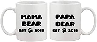 Mama Bear - Papa Bear - Mummy And Daddy - Mummy And Mummy - Daddy And Daddy - Mug Gift For New Parents/Couples 11oz