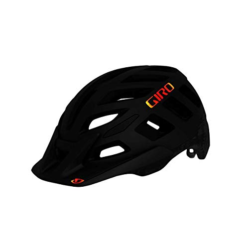 Giro Radix All Mountain MTB Fahrrad Helm Hypnotic schwarz 2020: Größe: S (51-55cm)