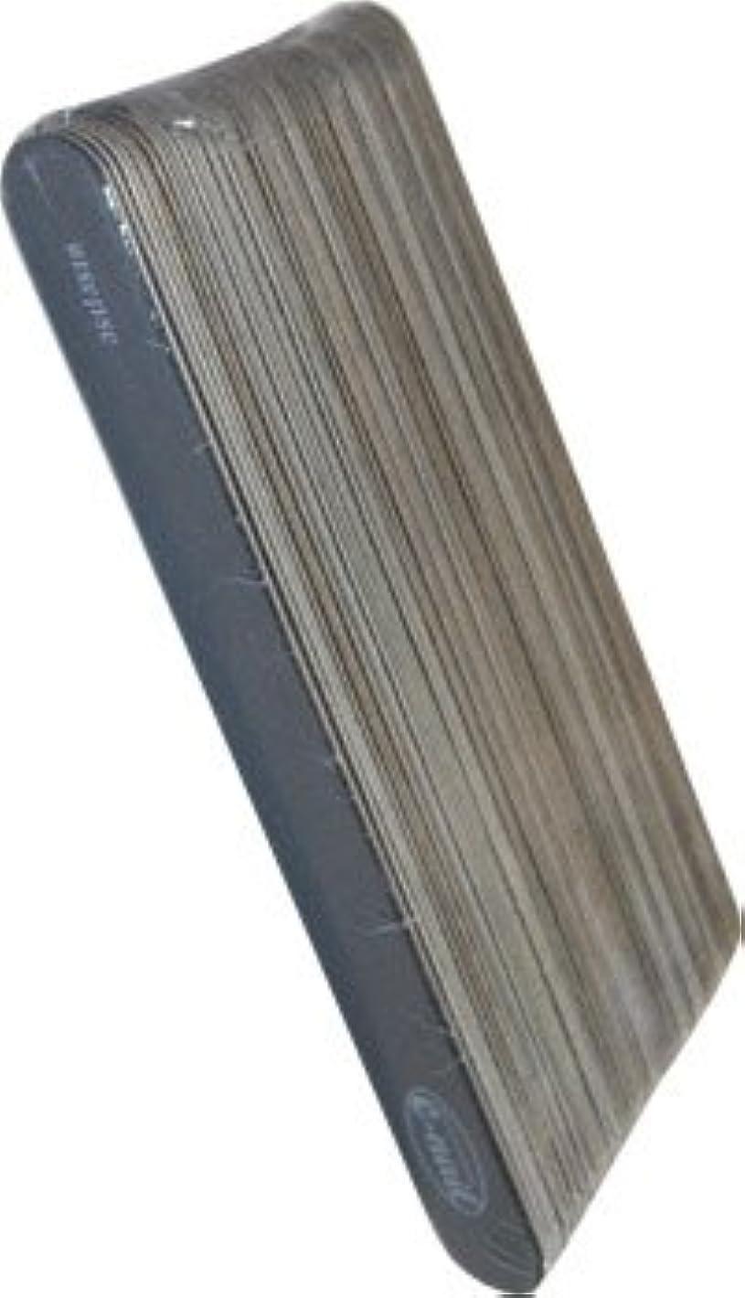 ソブリケット恒久的今までe-nail ウッドファイル?ブラック 50本セット