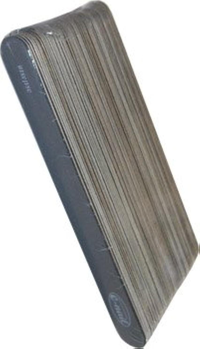 薬理学瞑想的バラ色e-nail ウッドファイル?ブラック 50本セット