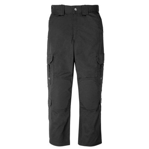 5.11 Pantalon de Travail Professionnel EMT EMS, UPF 50, Taille réglable, Style 74310 L Noir