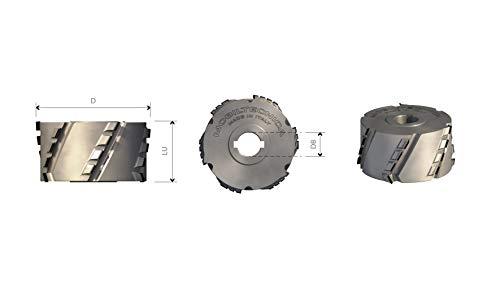 FRESE BORDATRICI AD ELICA IN DIAMANTE D60 PCD H2.5 MM ASSIALE 30° - MOBILTECNICA _ .4_D60 | LU36 | Z3+3 | ZTOT12 | DB20 | AX30° | SX | H4,5