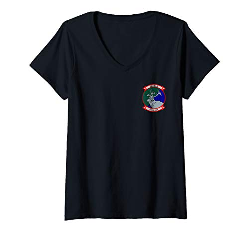 Womens VMM-166 V-Neck T-Shirt