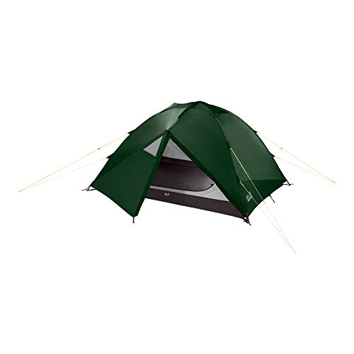 Jack Wolfskin Unisex – Adult's Eclipse Ii Dome Tent for Camping, Mountain Green, Standard