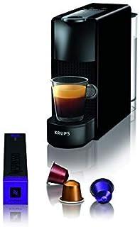 comprar comparacion Krups Nespresso XN1108 Essenza Mini Cafetera de cápsulas, 1260 vatios, negra, 0.6 litros (Pack Cápsulas bienvenida incluido)