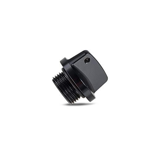 YINHUI Cubierta de tapón de llenado de Aceite Ajuste para Suzuki GSXR600 GSXR750 GSXR1000 SV V Strom 250 650 1000 BANDIDES 1200 S GSR 400 750 RM RMZ 80 85 125 450 (Color : Black)