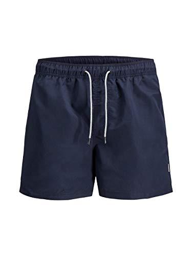 JACK & JONES Herren Jjiaruba Jjswim Shorts Akm Sts Badehose, Navy Blazer, XL EU