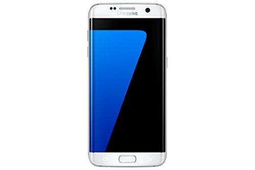 Samsung Galaxy S7 Edge Smartphone débloqué 4G (Ecran : 5,5 pouces - 32 Go - 4 Go RAM - Simple Nano-SIM - Android Marshmallow 6.0) Blanc