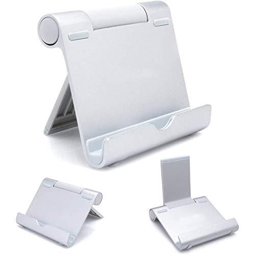 AAA Products - Supporto portatile per tablet, e-reader e smartphone, corpo in alluminio, multi-angolare, leggero e resistente, di alta qualità, compatibilità universale