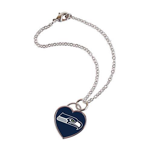 Wincraft Damen 3D Herz Armband - NFL Seattle Seahawks