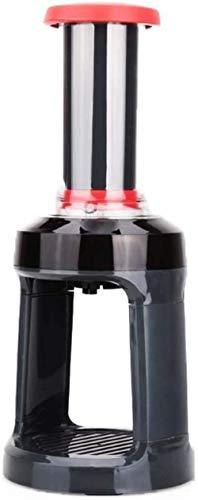 ZCZZ Café expreso Máquina de café expreso Máquina de café de Mano Rojo Rojo Cocina Oficina Mano portátil Impresión de abs Manual Inicio