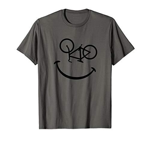 Bike Fahrrad Rad Smiley Affe Monkey Geschenk Rennrad Smile T-Shirt