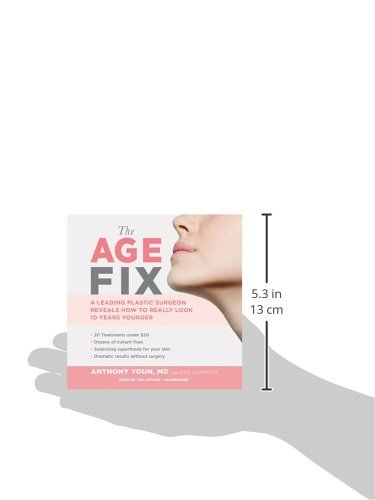 31QutZbfxNL. SL500  - The Age Fix: Insider Tips, Tricks, and Secrets to Look and Feel Younger Without Surgery